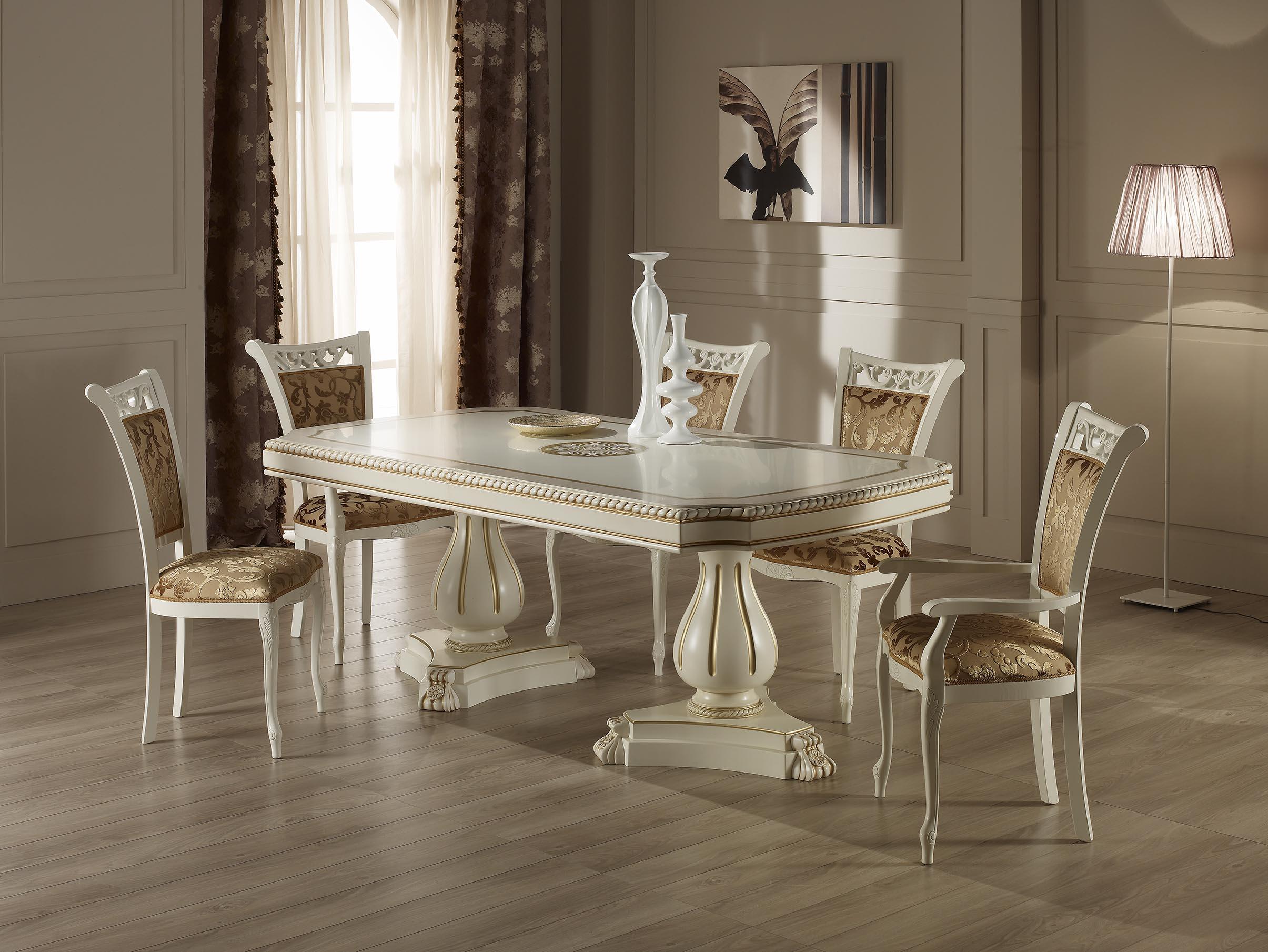 Обеденный стол Коринто (2010*450мм + 450мм*1045*760мм)