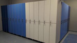 Шкафы для фитнес-центра