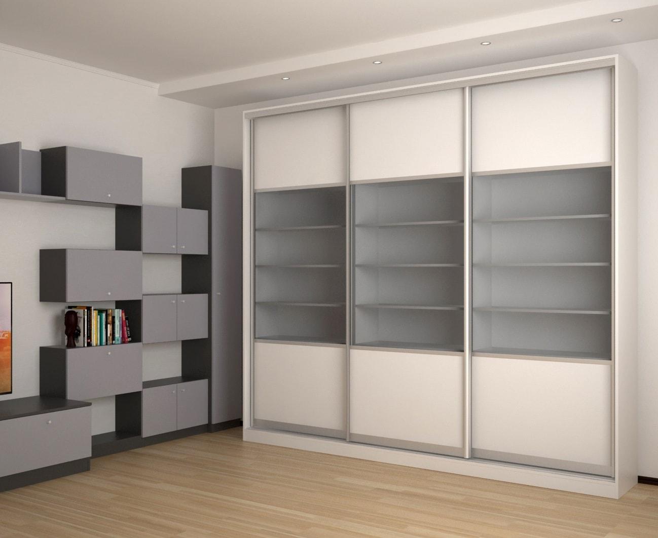 Прямые шкафы-купе