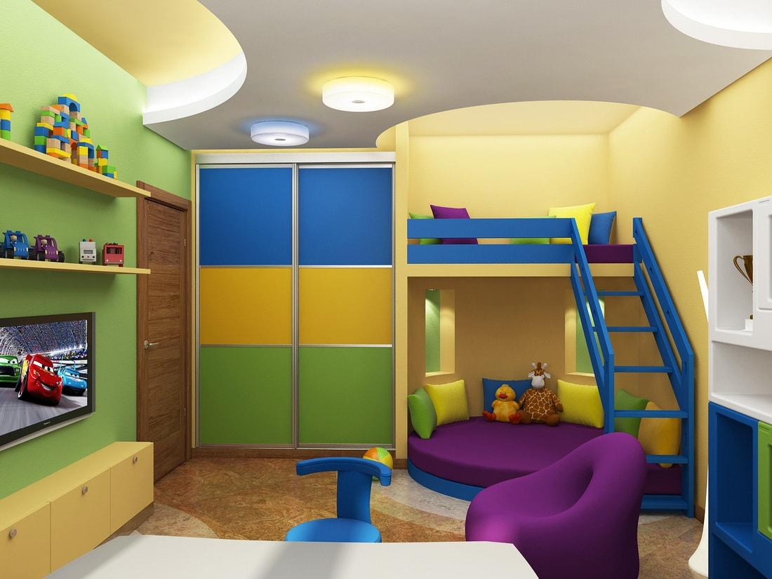 Детские шкафы-купе
