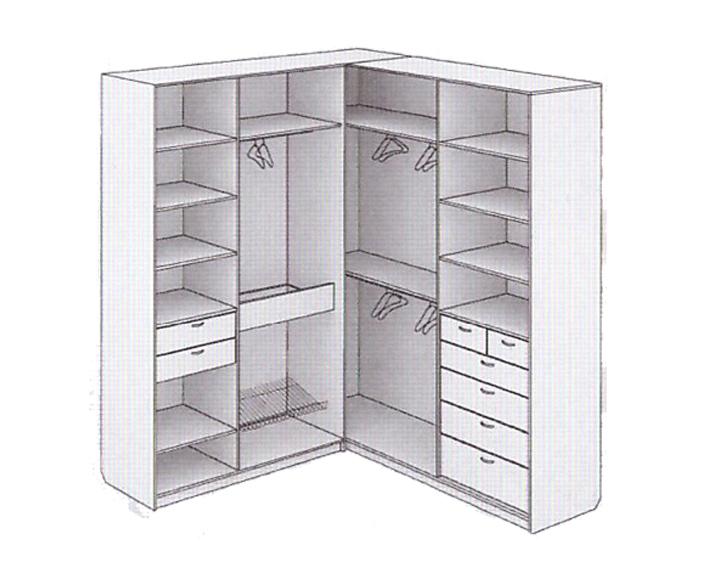 Угловые шкафы-купе