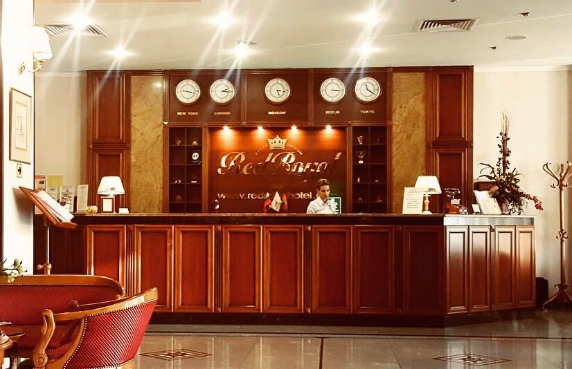 Рецепция Отеля Red Royal