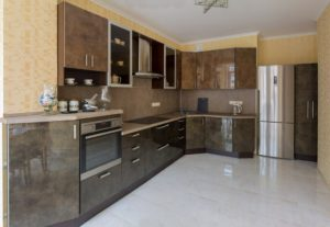 Готовая кухня Сиена цвет медь