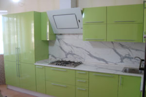 Готовая кухня Сиена цвет фисташка