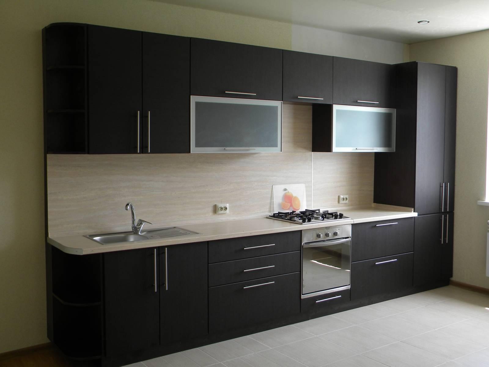 Готовая кухня Сиена цвет венге