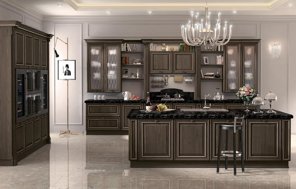 Кухня Орнелла в классическом стиле
