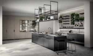 Кухня Сиена в стиле лофт с фасадом Сидак