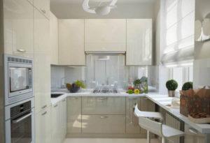 Кухня Сиена крем