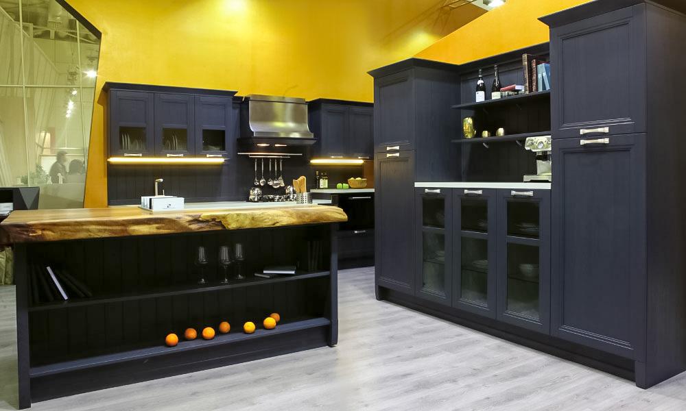 Кухня Манчестер серый