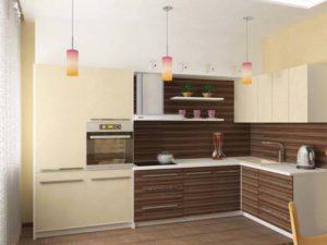 Кухня Сиена Зебрано коричневый