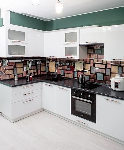 Кухня Сиена с глянцевой отделкой