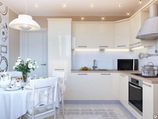 Кухня Сиена кремовая с фурнитурой Boyard