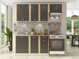 Кухня Беатриче коричневая