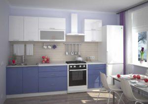 Кухня Сиена синяя