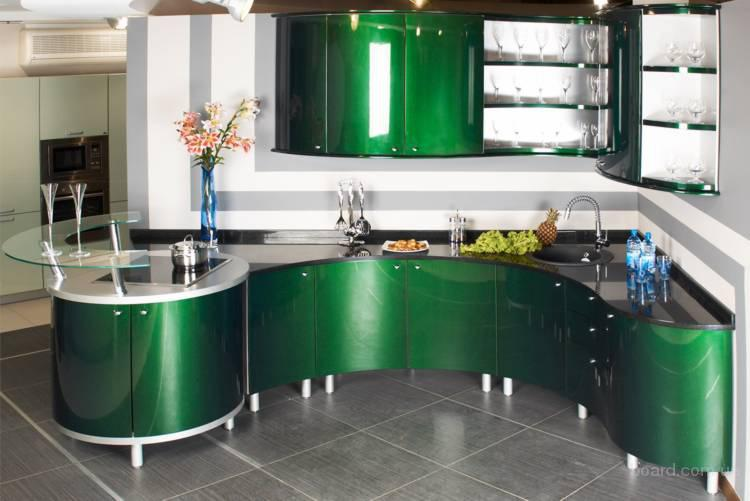 Кухня Орнелла / зеленая