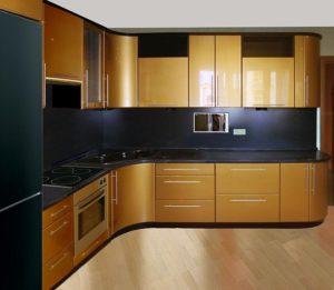 Кухня Сиена — золотая