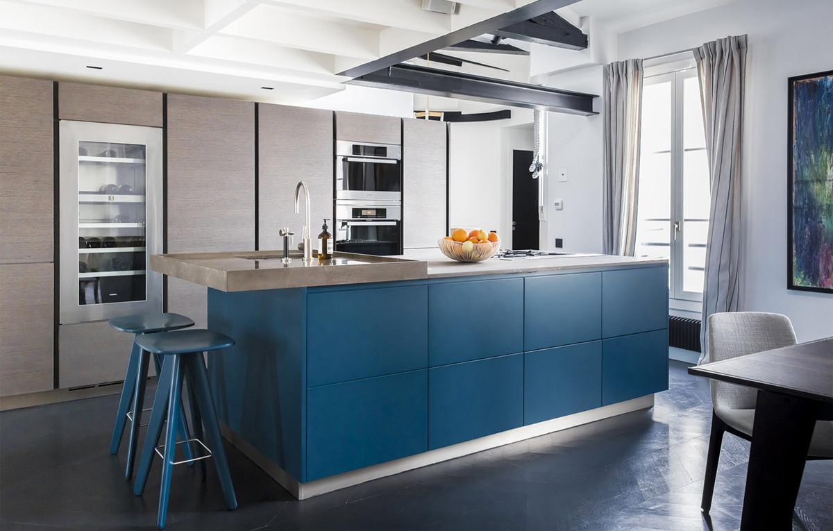 Кухня Сиена в стиле лофт