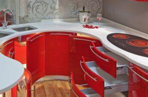Кухня Орнелла / красная