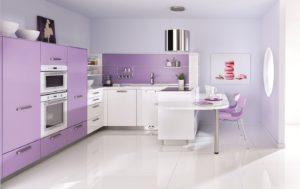 Кухня Сиена с матовой отделкой и с фурнитурой Boyard