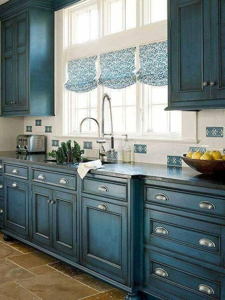 Кухня Модена / синяя
