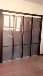 4-х дверный встроенный шкаф-купе
