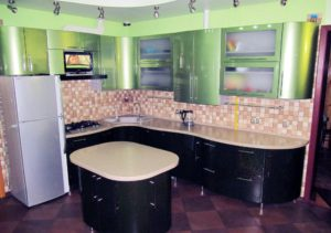 Кухня Орнелла с фурнитурой Blum