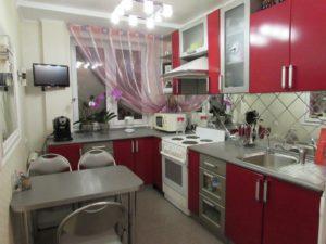 Кухня Сиена / красная