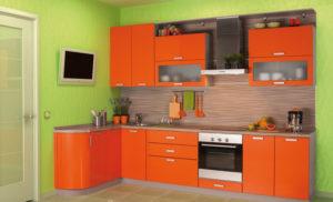 Кухня Сиена с матовой отделкой