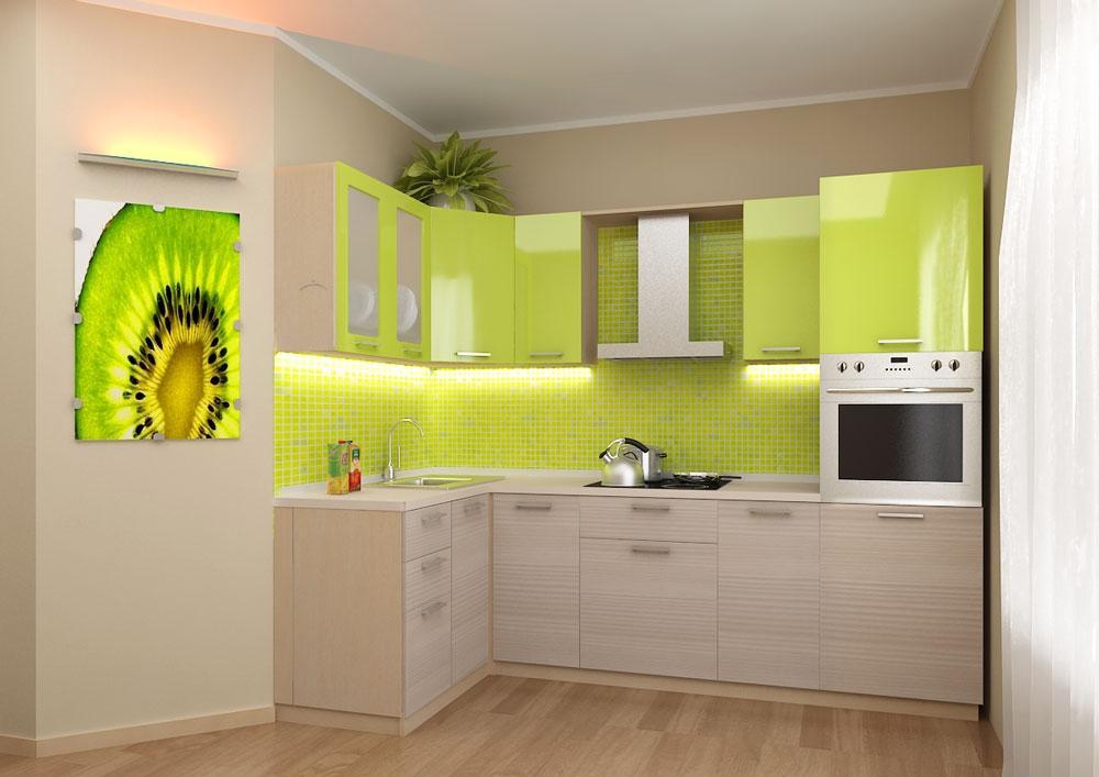 Кухня Сиена в стиле минимализм Fundermax