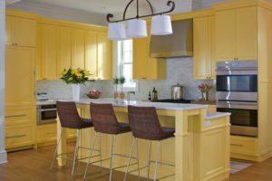 Кухня Сиена с фасадами из 3D акрила