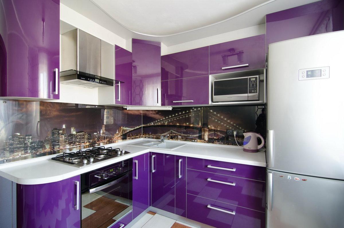 Кухня Сиена в стиле хай-тек