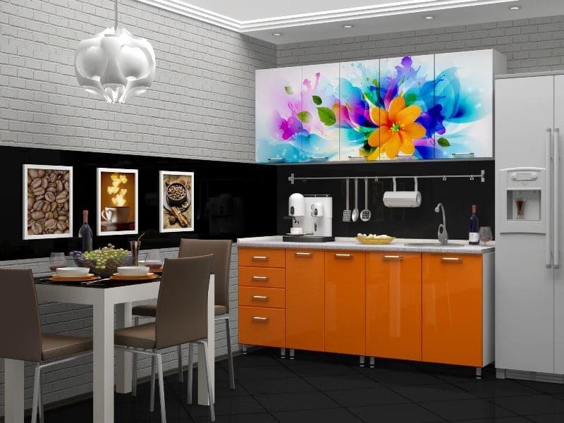 Кухня Сиена с фасадом Сидак / фотопечать