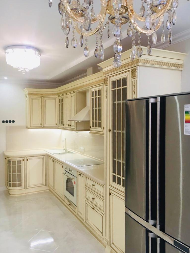 Кухня Виченца бежевого цвета